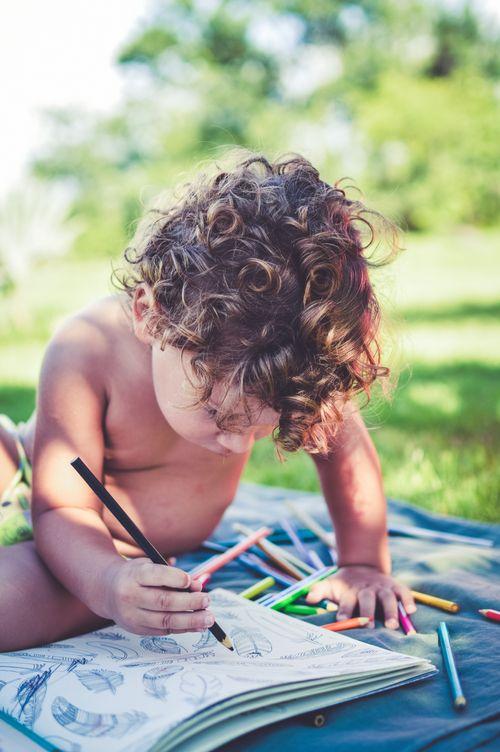 孩子越畫越聰明?創造力大噴發!愛畫畫的孩子有這8大能力發展!