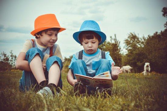 閱讀的孩子